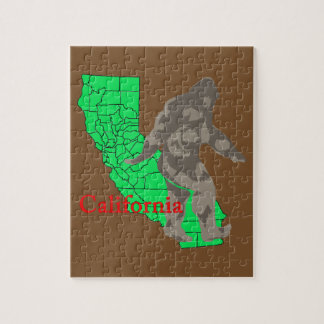 California bigfoot jigsaw puzzle