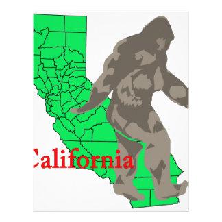 California bigfoot letterhead
