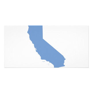 California: Blue State! Photo Card Template