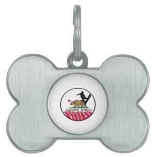 California Boarders Pet ID Tag