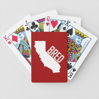 California Bred Bicycle Playing Cards