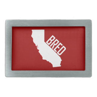 California Bred Rectangular Belt Buckle