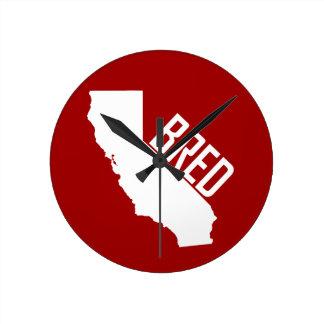 California Bred Round Clock
