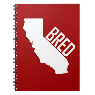 California Bred Spiral Notebook