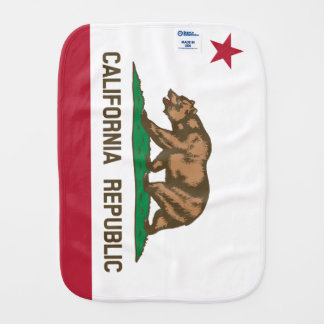 California Burp Cloth
