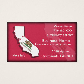 California Business Card