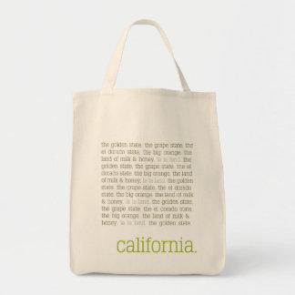 California Canvas Tote