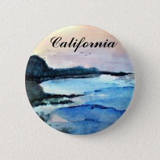 California Coast 2 Inch Round Button