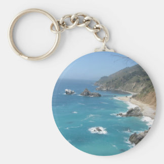 California Coast- Big Sur Keychain
