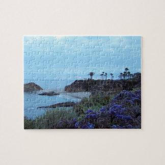 California Coastline Laguna Beach Jigsaw Puzzle