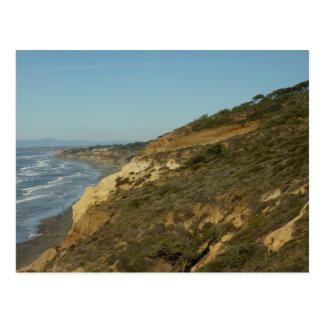 California Coastline Scenic Travel Photography Postcard
