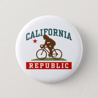 California Cycling Female 2 Inch Round Button