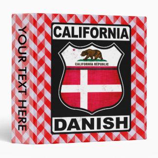 California Danish American Binder