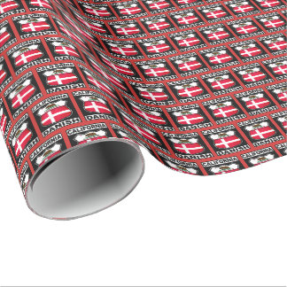California Danish American Gift Wrap