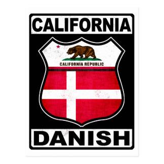 California Danish American Postcard