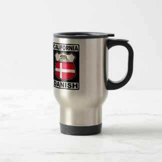 California Danish American Travel Mug