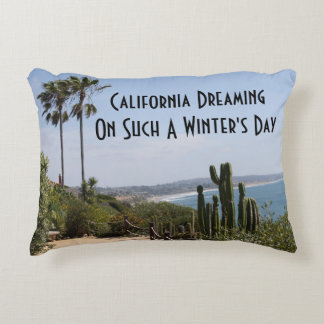 California Dreaming Accent Pillow