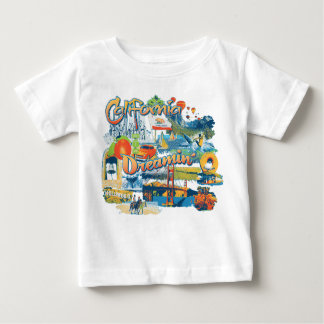 California Dreaming Baby T-Shirt