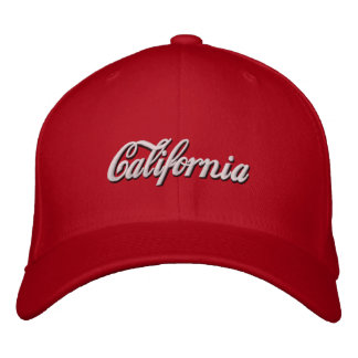 California Embroidered Hats