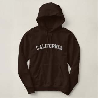 California Embroidered Hoodie