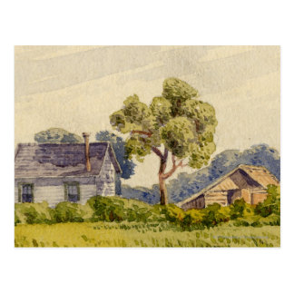 California Farm, Near Stockton Postcard