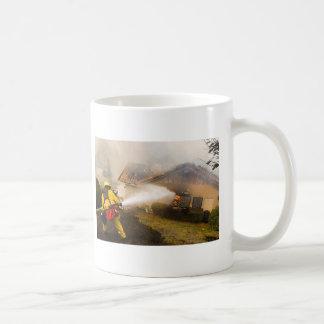 CALIFORNIA FIRES CLASSIC WHITE COFFEE MUG