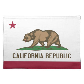California Flag American MoJo Placemat