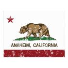 california flag anaheim postcard