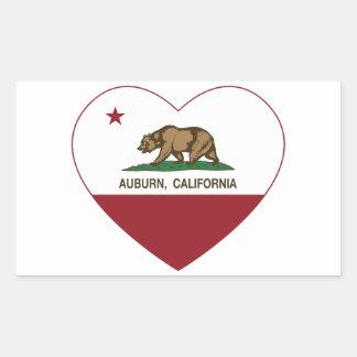 california flag auburn heart