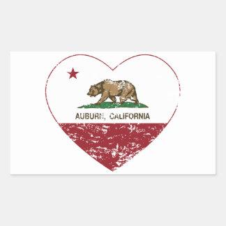 california flag auburn heart distressed