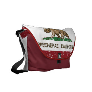 California flag breenbrae flag messenger bags