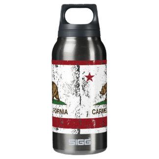 California flag carmel Flag Insulated Water Bottle