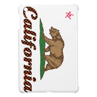 California Flag Checkered-Out iPad Mini Covers