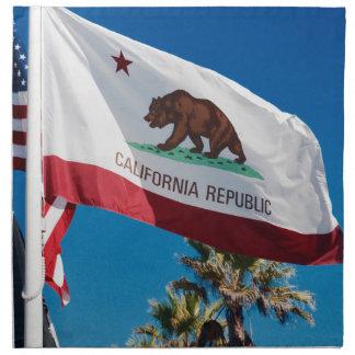 California Flag Cloth Napkins