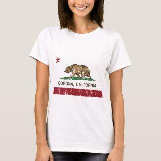california flag corona distressed T-Shirt