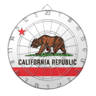 CALIFORNIA FLAG Dart Board