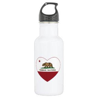 california flag ferndale heart