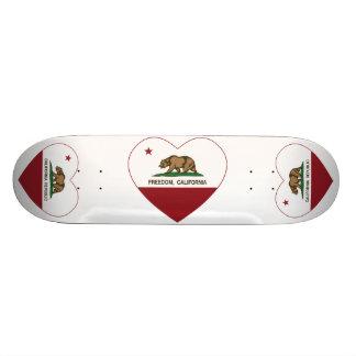 california flag freedom heart skateboard decks