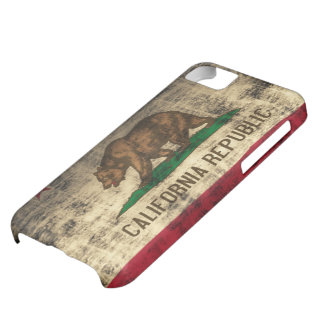 California Flag Grunge iPhone 5C Cover