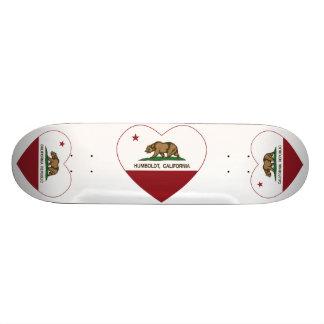 california flag humboldt heart skate boards
