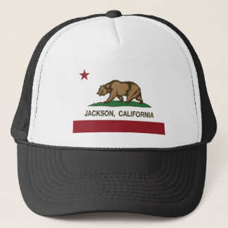 california flag jackson trucker hat