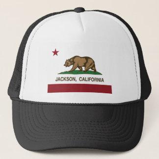 california flag jackson trucker hat