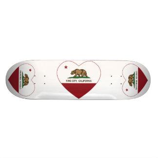 california flag king city heart skateboards