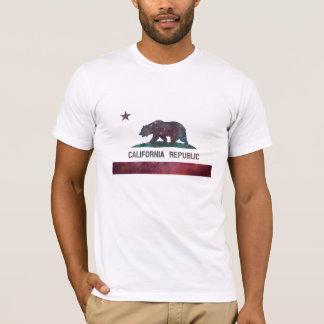 California Flag Nebula T-Shirt