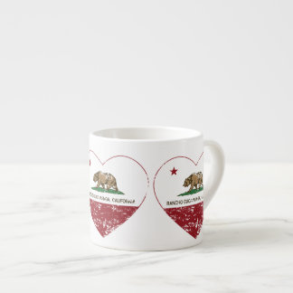 california flag rancho cucamonga heart distressed espresso cup