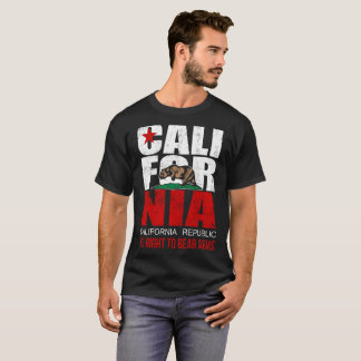 California Flag Right to Keep and Bear Arms Infrin T-Shirt