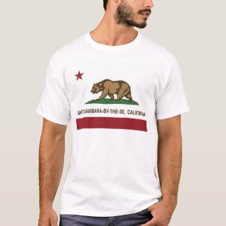 california flag santa barbara by the sea T-Shirt