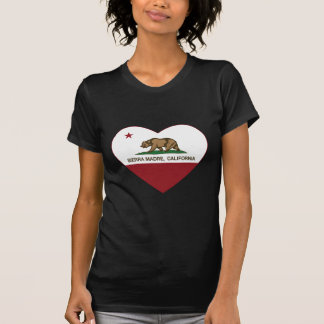 california flag sierra madre heart T-Shirt