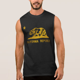 California Flag Sleeveless Shirt