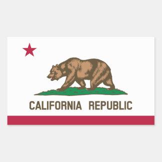 California* Flag Sticker